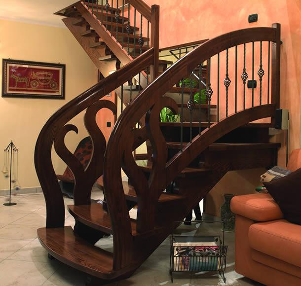 Assistenza manutenzione e servizio scale a chiocciola per - Scale in legno per interno ...