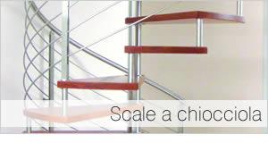 Foto scala a chiocciola di design moderno