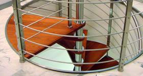 Casa moderna roma italy progetto scale a chiocciola - Scale a chiocciola bari ...